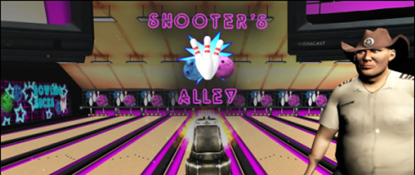 Shooter's Alley - A bowling game with guns... what's not to love? Shooter's Alley is definitely a game to be played in virtual reality!